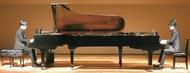 ピアノデュオにうっとり