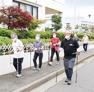 正しい歩行で健康維持