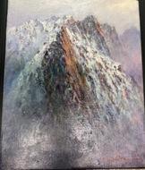 絵画展「アルプスの山々」