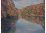 秋の色彩をスケッチ