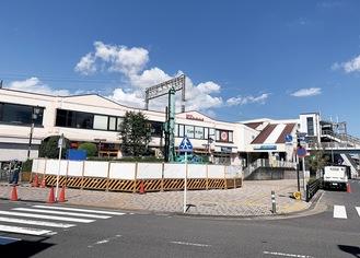 新交番が設置される東海大学前駅南口ロータリー