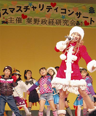 秦野政経研究会がクリスマスチャリティコンサート