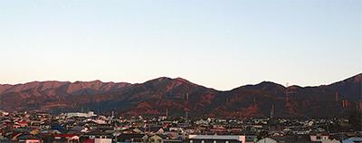 表丹沢の山なみ 撮り続け6年