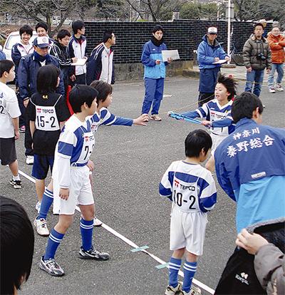 小学生が健脚競う
