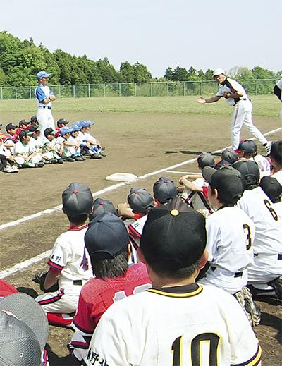元プロ野球選手がコーチに