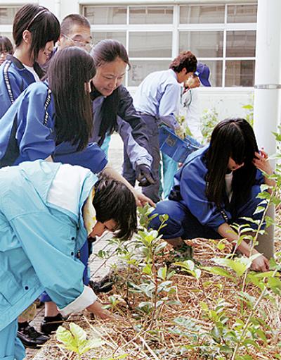 植樹で育む福祉の心