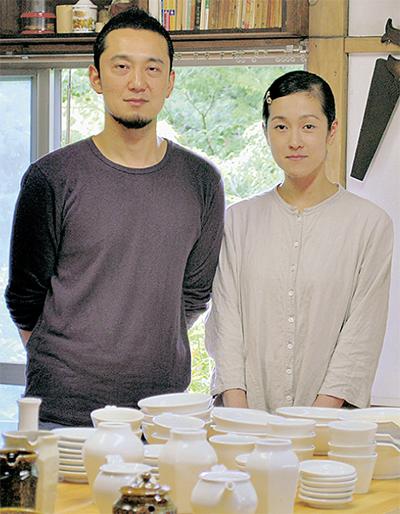 浪江町の陶芸家が開窯