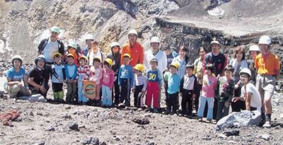 若木保育園が富士登頂
