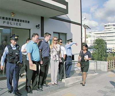 ブラジル州軍警察が秦野署へ