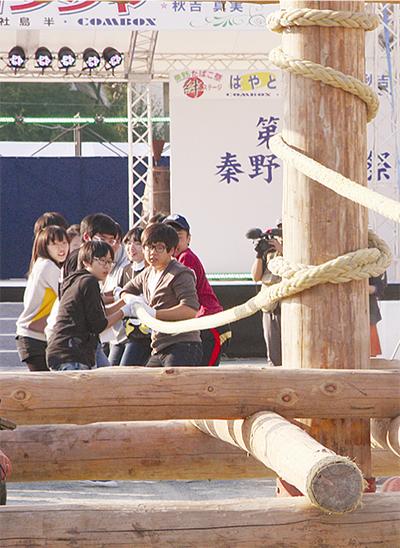 坡州の中学生がたばこ祭に