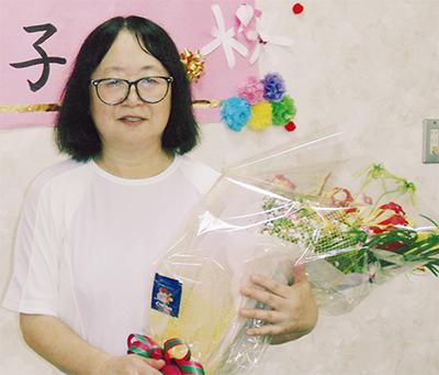 金子洋子さんが県介護賞