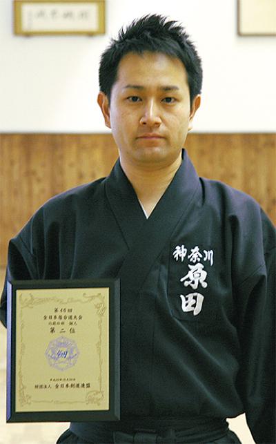 原田渡さんが全国2位
