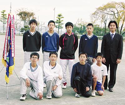 北中ソフトテニス部が県制覇