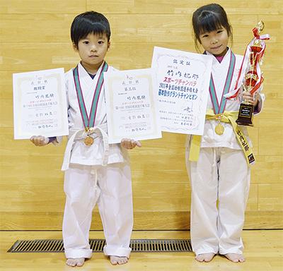 幼稚園剣士が全国で活躍