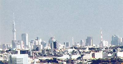 東京タワーとスカイツリー1枚に