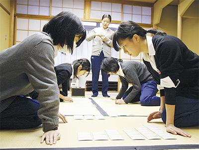 一枚にかける「畳の上の格闘技」