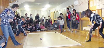 伝統の大山独楽大会