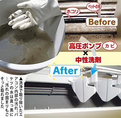 エアコン「エコ洗浄」が3,000円〜
