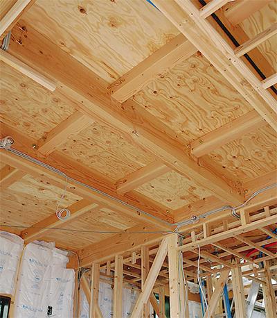 「建設マスター」の家 構造見学会