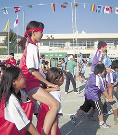 地域で応援子ども会運動会