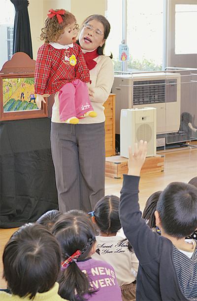 西幼稚園で食農教育