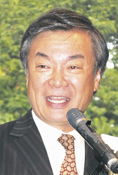 松沢前知事が講演