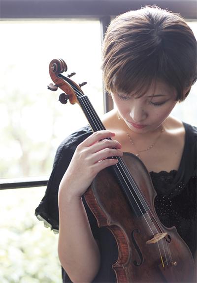 涼やかにヴァイオリン公演