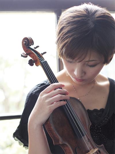 涼やかにバイオリン公演