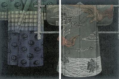 浜西勝則さん版画展