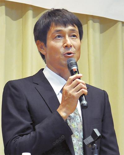 吉田栄作さんが「ただいま」