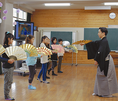 能で学ぶ日本文化