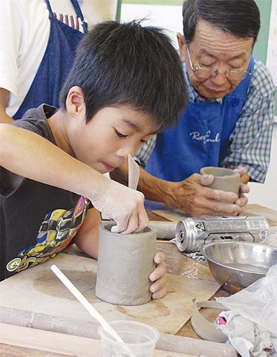 小学生が陶芸家に