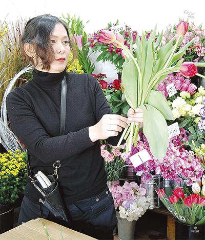 県花き展覧会で入賞