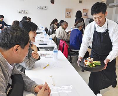 旬野菜の調理学ぶ