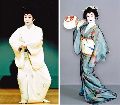 雅な日本舞踊の舞を披露