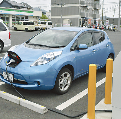 EV充電利用全国2位
