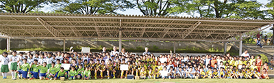 初の小3生サッカー大会