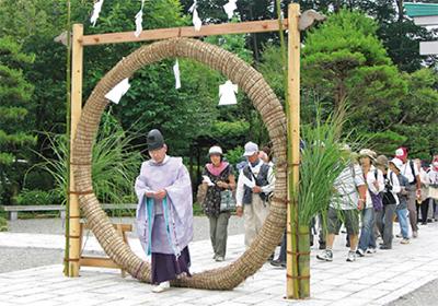 七福神・茅の輪ハイク