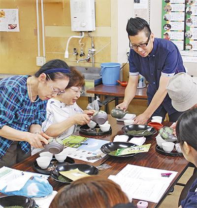 日本茶の秘密を伝授