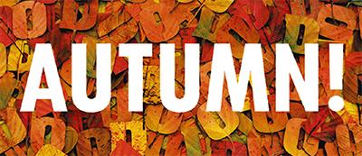 おしゃれ、グルメ―楽しい秋みつけた