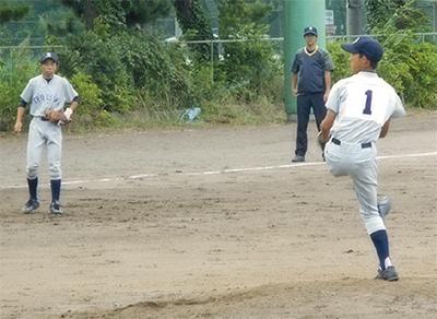 渋沢中野球部 県大会へ