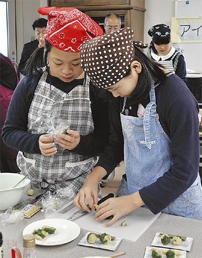 小中学生が「秦野の味」競う