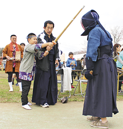 「剣道をやってみよう」