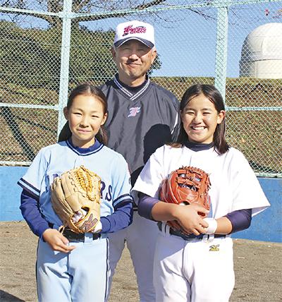 「女子も野球がしたい」