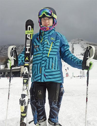 スキー大回転でIHへ