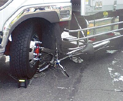 子どもの交通事故増