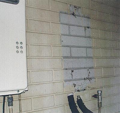 給湯器の盗難が多発