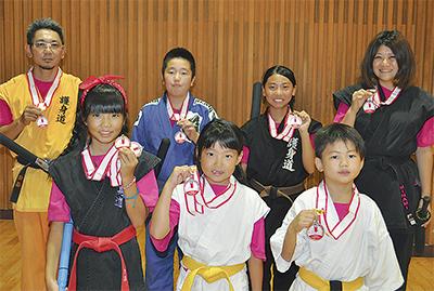 全日本で最多メダル8個