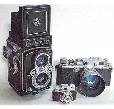 フィルム時代のカメラ展