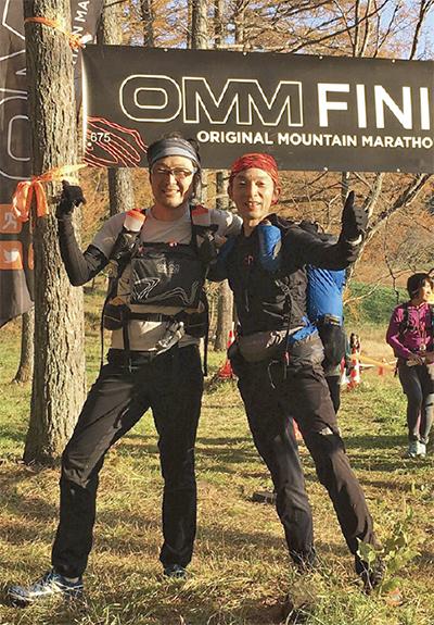 山岳マラソンで初優勝